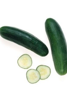 Cucumbers production depends on variety, growing conditons and plant care.