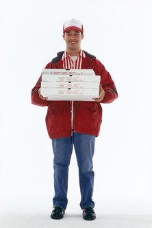 Most pizza delivery drivers use their own vehicles to deliver orders.