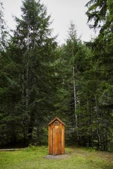An unbalanced toilet often causes the bathroom to smell like an outhouse.