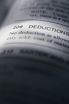 Verify your deductions with your CPA.