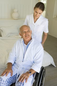 Home health care is a career option for registered nurses who do not want to work in a hospital.