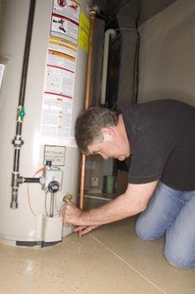 Adjusting water heater temperature can eliminate bacterial contamination.