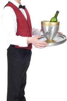 Waiters rely on tips for a big chunk of their earnings.