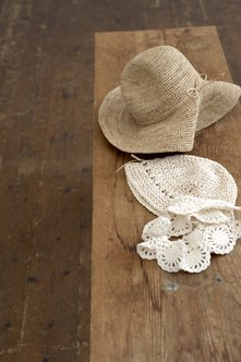 A crocheted hat can make a memorable keepsake gift.