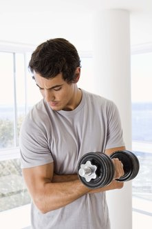 Lifting weights produces stronger muscles.
