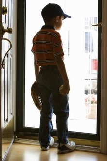 The screen door is the most common place to use door-closure hardware in the home.