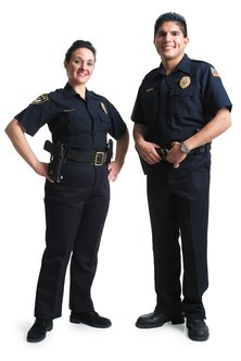 School resource officers patrol school buildings and grounds.