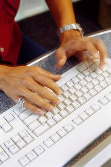 Advertise home typing jobs to those looking for part-time and full-time work.