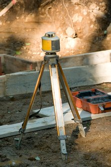 Surveying equipment has advanced in technical complexity over the years.
