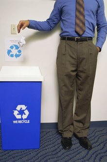 Make recycling more sporting than a simple wastebasket dump.