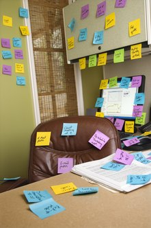 Evernote is the digital equivalent of a collection of sticky notes.