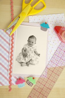 Help new moms create scrapbooks to store memories of their babies.