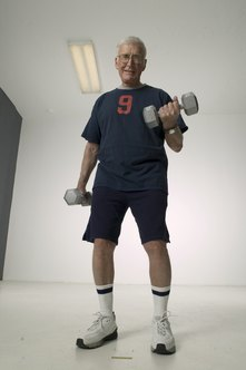 Weightlifting can be a very beneficial form of exercise for seniors.