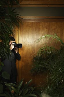 Private investigators gather information through surveillance and other methods.