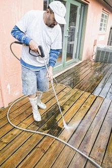 Start your own small, pressure washing business with minimal investment and training.