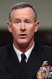 Admiral William McRaven led the mission to take out Osama bin Laden.