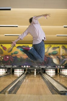 You'll be jumping for joy once you get all of the licenses required to open your bowling alley.