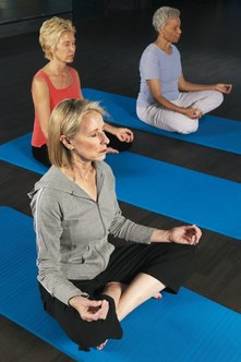 Meditation reduces stress and can help prevent illness.