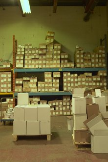 Logisticians find the best ways to receive, store and distribute goods.