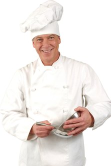 The chef is at the heart of your catering business, and he may require assistants to help him complete the job.