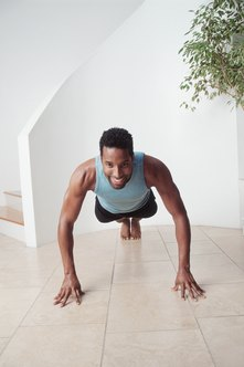 Bust out a few sets of body-weight pushups before bed.