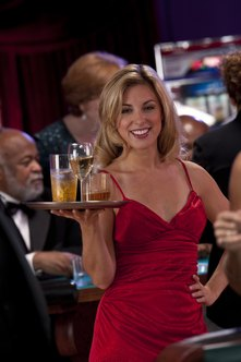 how to get a   time cocktail waitress job without experience    a vibrant personality is an asset for a cocktail waitress