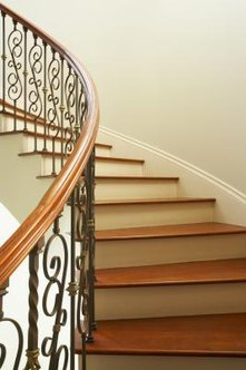 Oak treads lend elegance and warmth to your stairs.