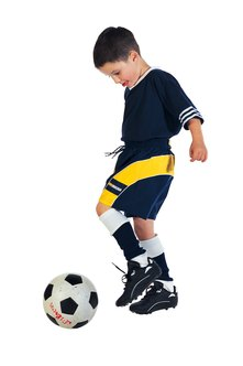 Mini-soccer is designed to give kids more opportunities to touch the ball.