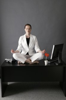 Company wellness programs improve well-being at work.