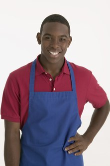 A welcoming smile and neat appearance are good qualities for summer workers.