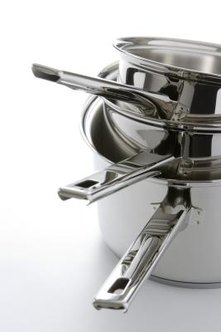 Water spots can make clean stainless steel look dirty.