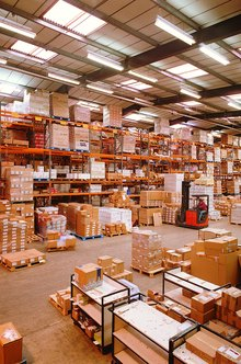 Warehouse services and a central location provide economic benefits to businesses.