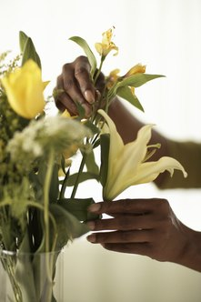 FIFO is appropriate for businesses that sell perishables such as cut flowers.