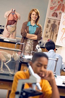 Biology teachers may qualify for teacher student loan forgiveness programs.