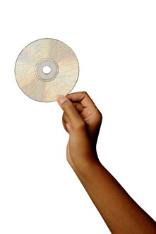 Packing tape can repair a cracked CD.