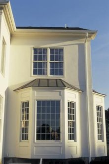 You can seal bay windows from both water and air leaks.