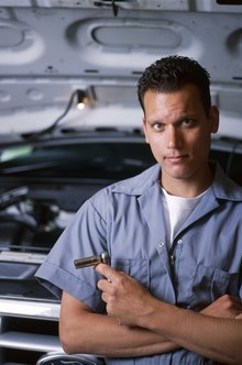 Automotive service technicians find and fix mechanical problems in cars and trucks.