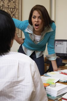 Intimidation and bullying are common tools used by tormentors for mobbing in the workplace.