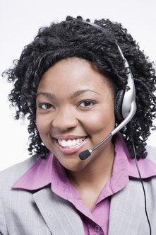 A friendly attitude makes telephone selling more effective.