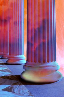 An entreprenuer's qualities are the pillars that hold up his dreams.