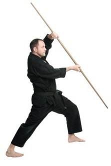Making a bo staff is a basic martial arts craft project.