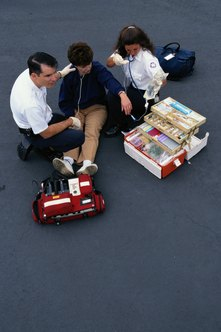 Rescue squads provide emergency medical care.