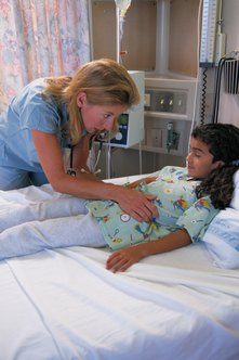 Pediatric nurses need ongoing training to update their skills.