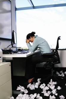 Too much work and work frustration can cause you to feel fatigued.