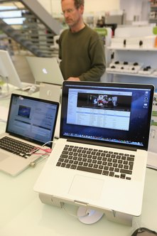 MacBooks and ThinkPads are popular laptops for business use.