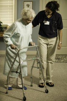The officer manager position in an assisted living facility usually requires frequent interactions with patients.