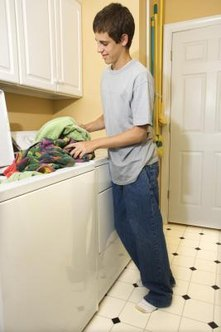 Regular cleaning of a washing machine will keep it in peak condition.