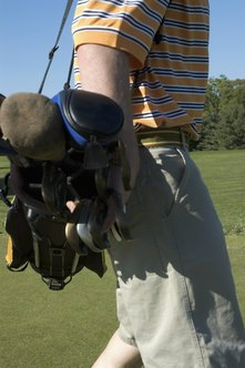 Pro caddies receive high pay for bearing the load.