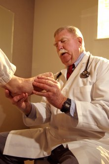 Podiatrists spend over a decade learning to treat diseases, injuries and deformities of the foot.