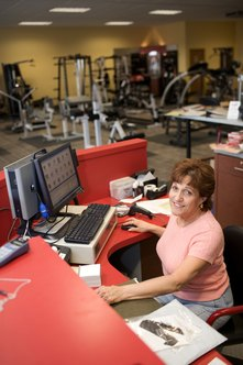 Many gyms have other staff members aside from their personal trainers.